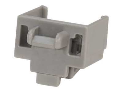 Panduit Jack Module Block-out Device (10-pack) , Int'l Gray w  (1) Removal Tool, PSL-DCJB-IG