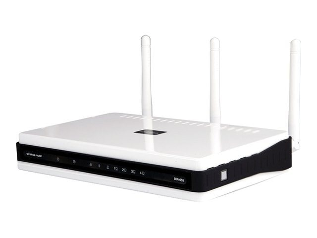 D-Link Xtreme N Gigabit Wireless Router + 4-Port Switch, DIR-655
