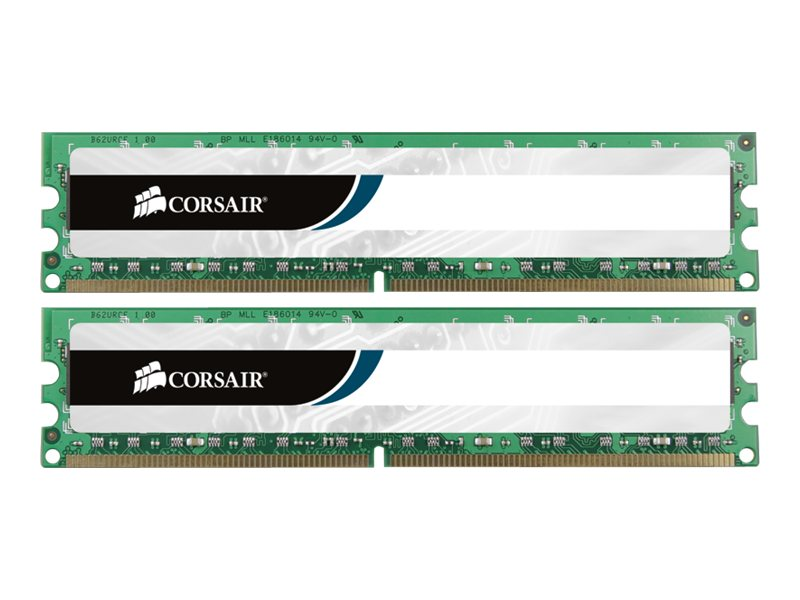 Corsair 8GB PC3-12800 1600MHz DDR3 DIMM Kit, 2x4GB, CMV8GX3M2A1600C11, 15213391, Memory