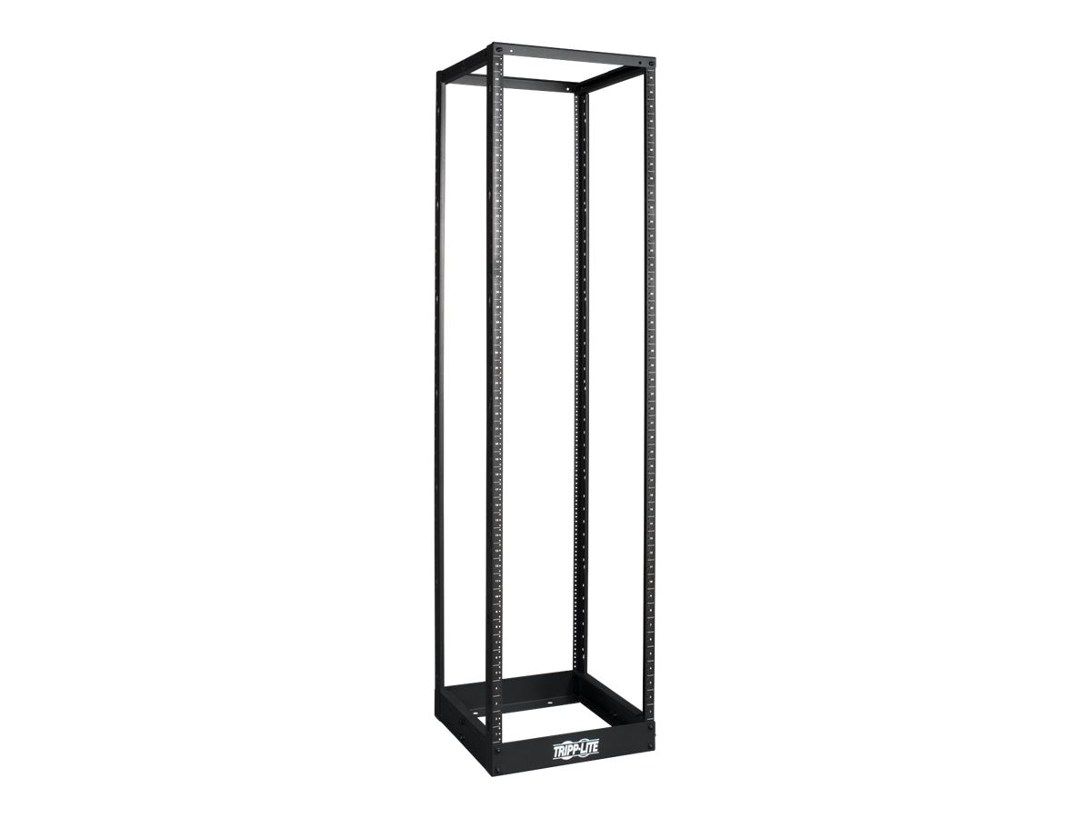 Tripp Lite 45U 4-Post Open Frame Rack, Threaded 12-24 Mounting Holes, SR4POST1224, 13011657, Racks & Cabinets
