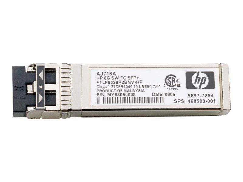 HPE MDS 9000 8Gb FC SFP+ Short Range Transceiver