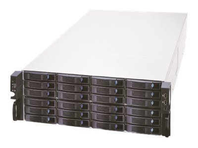 Chenbro RM41736E2-RE00G 4U Rackmount Chassis, 36-Bay, 3.5 with miniSAS, 1400W PS