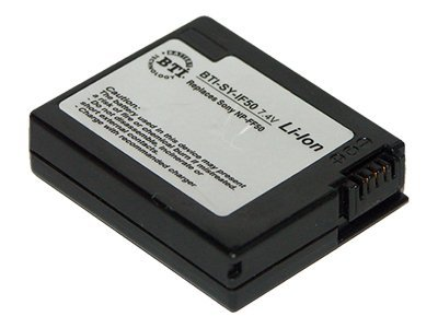 BTI Battery, InfoLithium, 7.4V, 680mAh, for Sony BC-TRF, DCR-IP1, DCR-IP5, More, SY-IF50, 7927731, Batteries - Camera