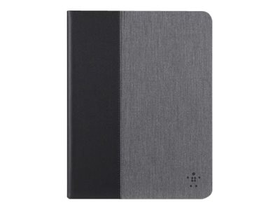 Belkin Chambray Cover for iPad Air Air 2, Dark Gray, F7N263B1C00