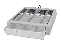 Ergotron SV43 44 Supplemental Triple Drawer, 97-849, 18031657, Cart & Wall Station Accessories