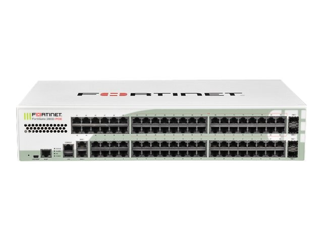Fortinet FortiGate-280D-POE w 24x7 FC & FG (3 Years), FG-280D-POE-BDL-950-36