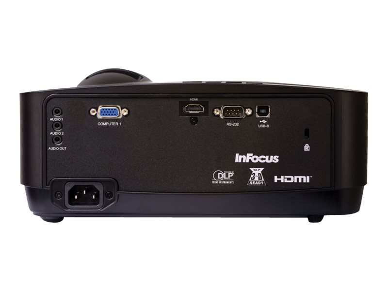 InFocus SP1080 HD Home Entertainment DLP Projector, 3500 Lumens, Black, SP1080