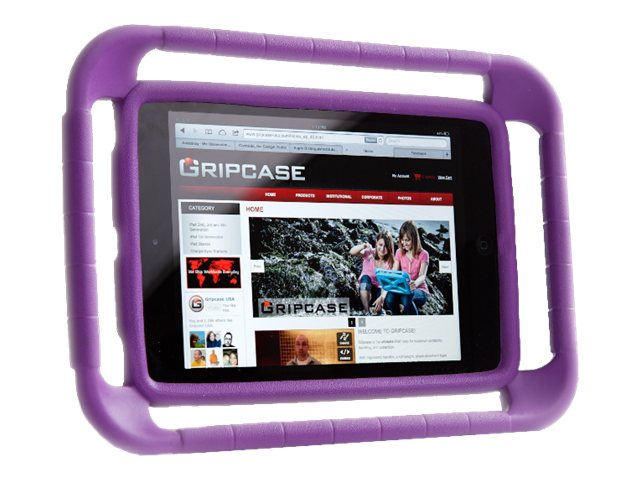 Gripcase Case for iPad Air, Purple, IAIR-PRP, 16936452, Carrying Cases - Tablets & eReaders