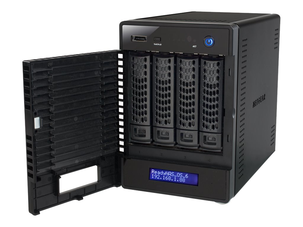 Netgear ReadyNAS 214 Network Storage - 4x2TB, RN214D42-100NES, 30790429, Network Attached Storage