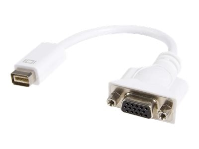 StarTech.com Mini DVI to VGA Video Cable Adapter for Mac, MDVIVGAMF