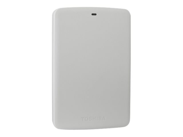 Toshiba 500GB Canvio Basics USB 3.0 Portable Hard Drive - White, HDTB305XW3AA, 18105759, Hard Drives - External