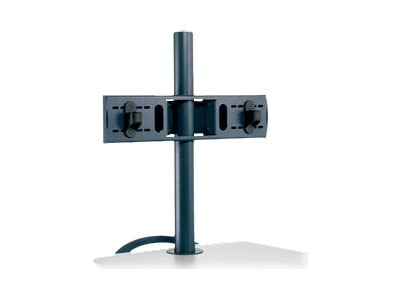 Ergotron Dual Flat Panel Pole Mount for Displays up to 20, ZPMDCG
