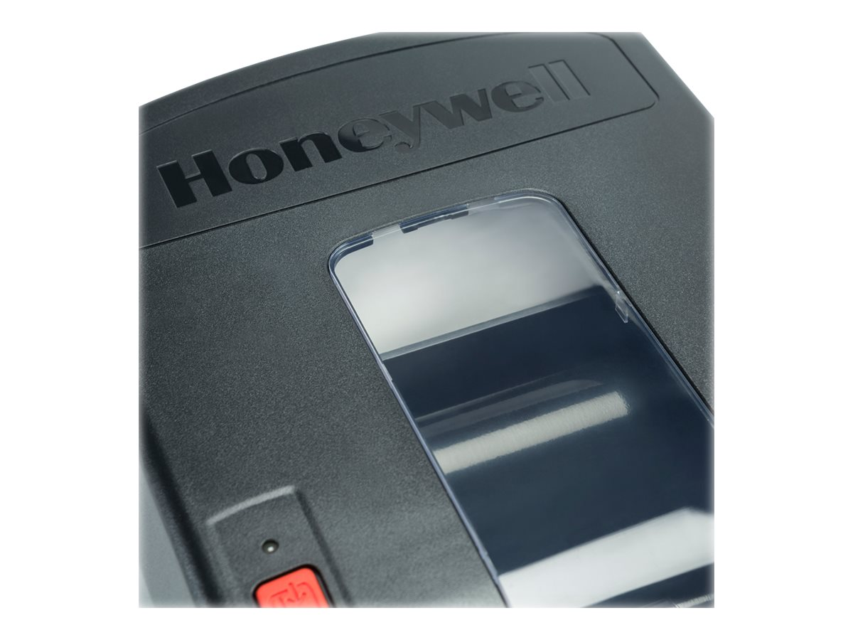 Honeywell PC42T RoW Latin Font USB+Serial 1 2 Core Printer - Black w  US Power, PC42TWE01222
