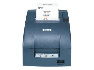Epson TM-U220D-806 USB Receipt Printer - Dark Gray w  Edge & Power Supply, C31C515806, 12855145, Printers - POS Receipt