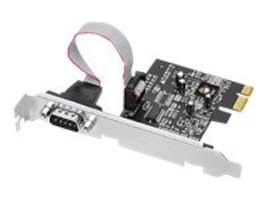 Siig Dual Profile PCI Express 1-Port RS232 Serial Adapter, JJ-E01111-S1, 13228362, Controller Cards & I/O Boards