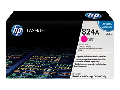 HP 824A Magenta Image Drum for HP Color LaserJet CP6015 & CM6040 mfp Printers, CB387A, 8489091, Toner and Imaging Components