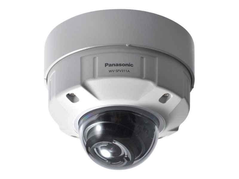 Panasonic Super Dynamic HD Vandal Resistant and Waterproof Dome Network Camera, WV-SFV311A