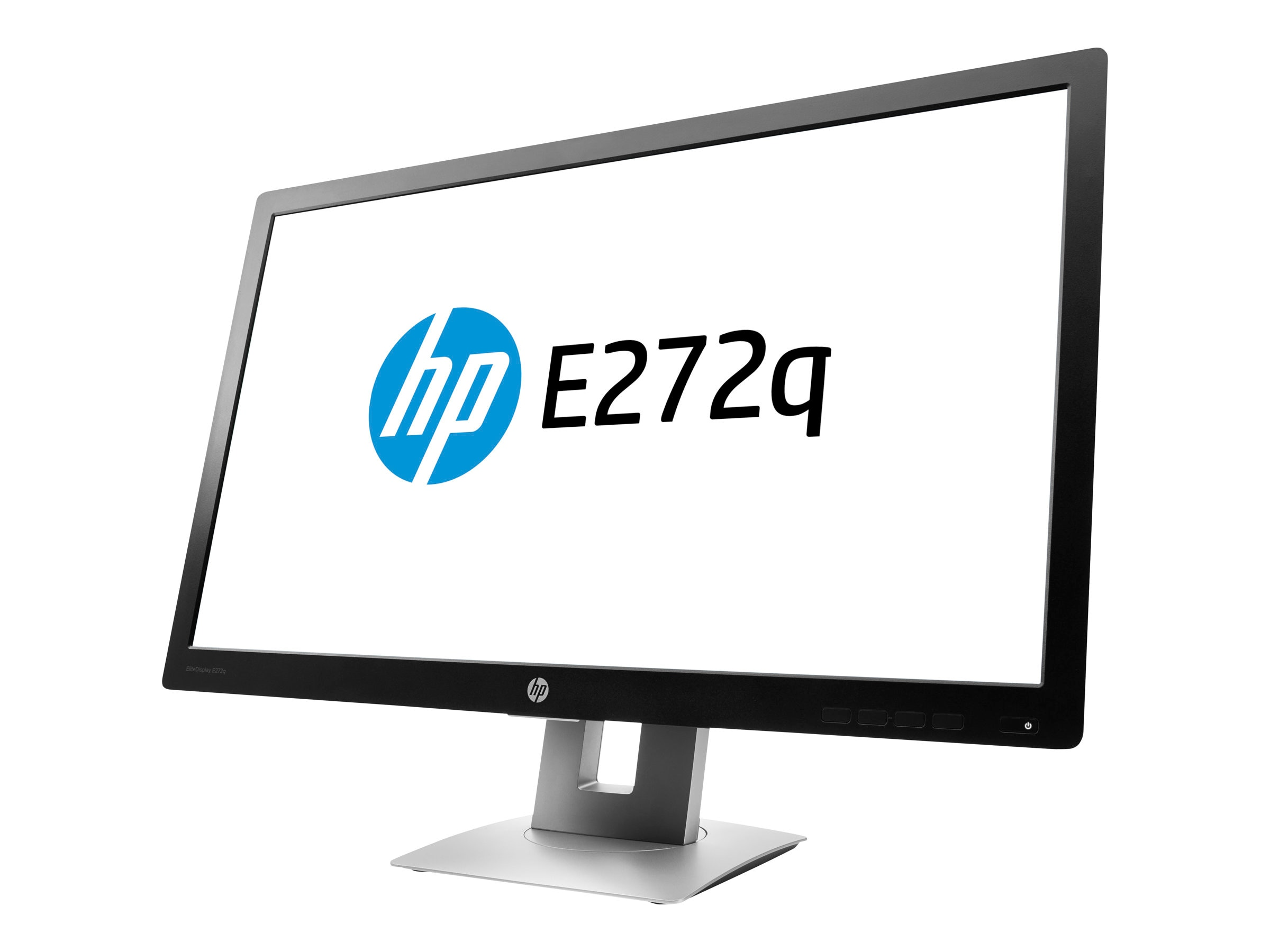 HP 27 E272q Quad HD IPS LED Monitor, Black, M1P04A8#ABA, 31451226, Monitors - Large-Format LED-LCD