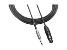 Audio-Technica XLR 1 4 Microphone Cable, 20ft, ATR-MCU20, 15306096, Cables