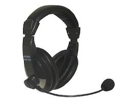 Nady QHM-100 Stereo Headphones with Boom Microphone, QHM-100, 15261713, Headsets (w/ microphone)