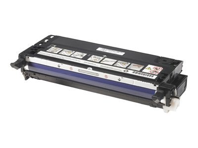 Dell Black Toner Cartridge for 3110cn Color Laser Printer, PF030