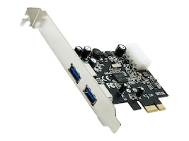 Rosewill 2-Port USB 3.0 PCI Express Card, RC-505, 18011533, Controller Cards & I/O Boards