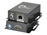 Siig HDMI Extender over Cat5 6 with 3D TV Support, CE-H20L11-S1, 12954830, Video Extenders & Splitters