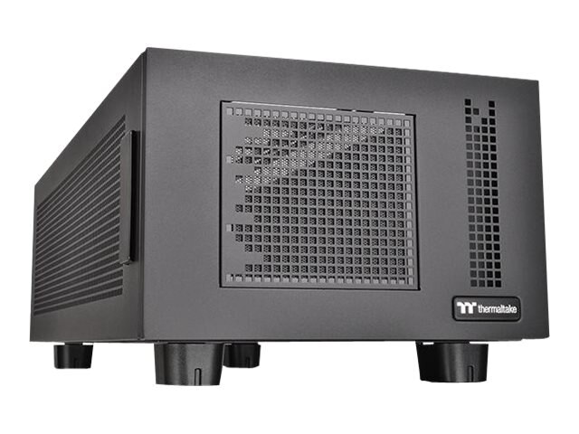 Thermaltake Chassis, Core P100 Pedestal for Compatible Tower Cases, Black, CA-1F1-00D1NN-00, 31776178, Cases - Systems/Servers