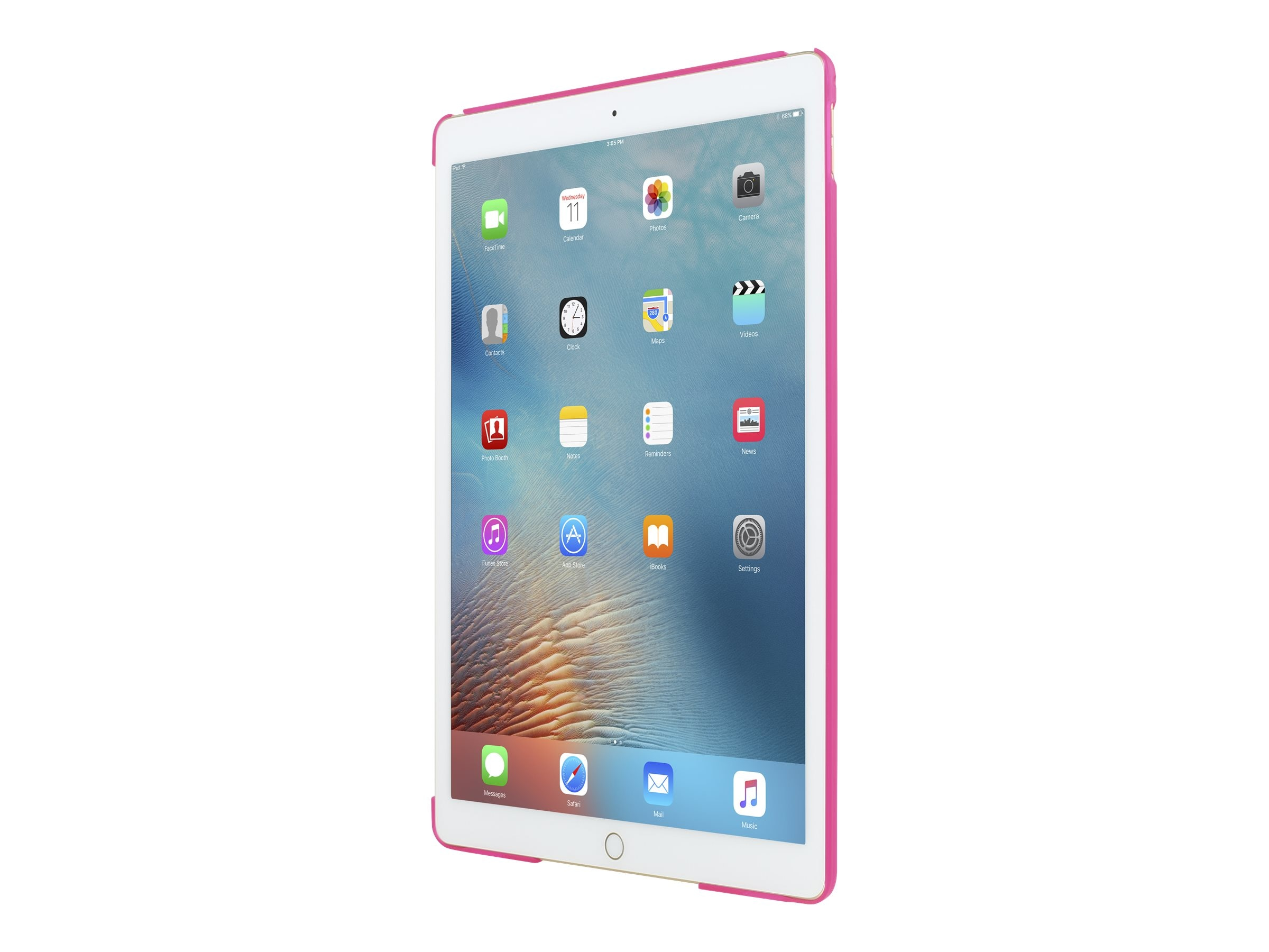 Incipio Feather Ultra-Thin Snap-On Case for iPad Pro 12.9, Pink