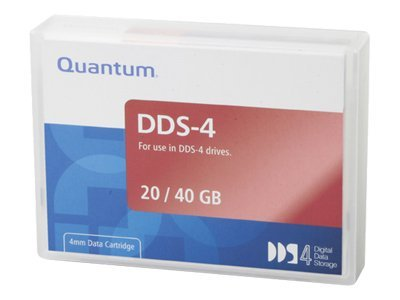 Quantum 20 40GB 4mm 150m DDS-4 DAT Tape Cartridge, CDM40, 5062067, Tape Drive Cartridges & Accessories