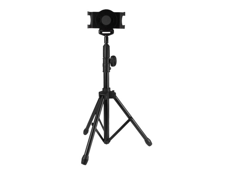 StarTech.com Tripod Floor Stand for 7-11 Tablets, Black