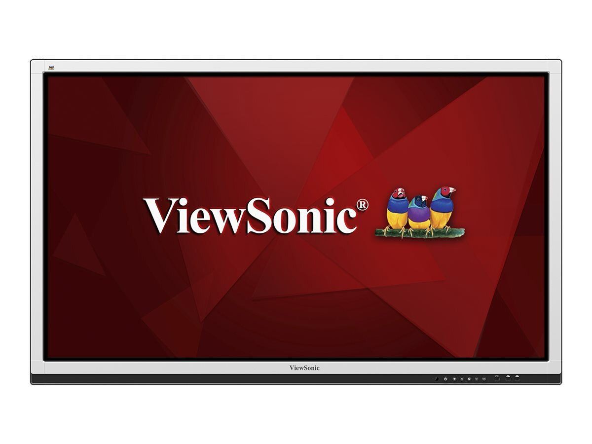 ViewSonic 64.5 CDE6561T Full HD LED-LCD Touchscreen Display, Gray