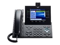 Cisco Unified IP Endpoint 9951, Charcoal, Standard Handset, CP-9951-C-K9=, 10909103, Telephones - Business Class