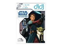 LeapFrog Didj Game Star Wars the Clone Wars
