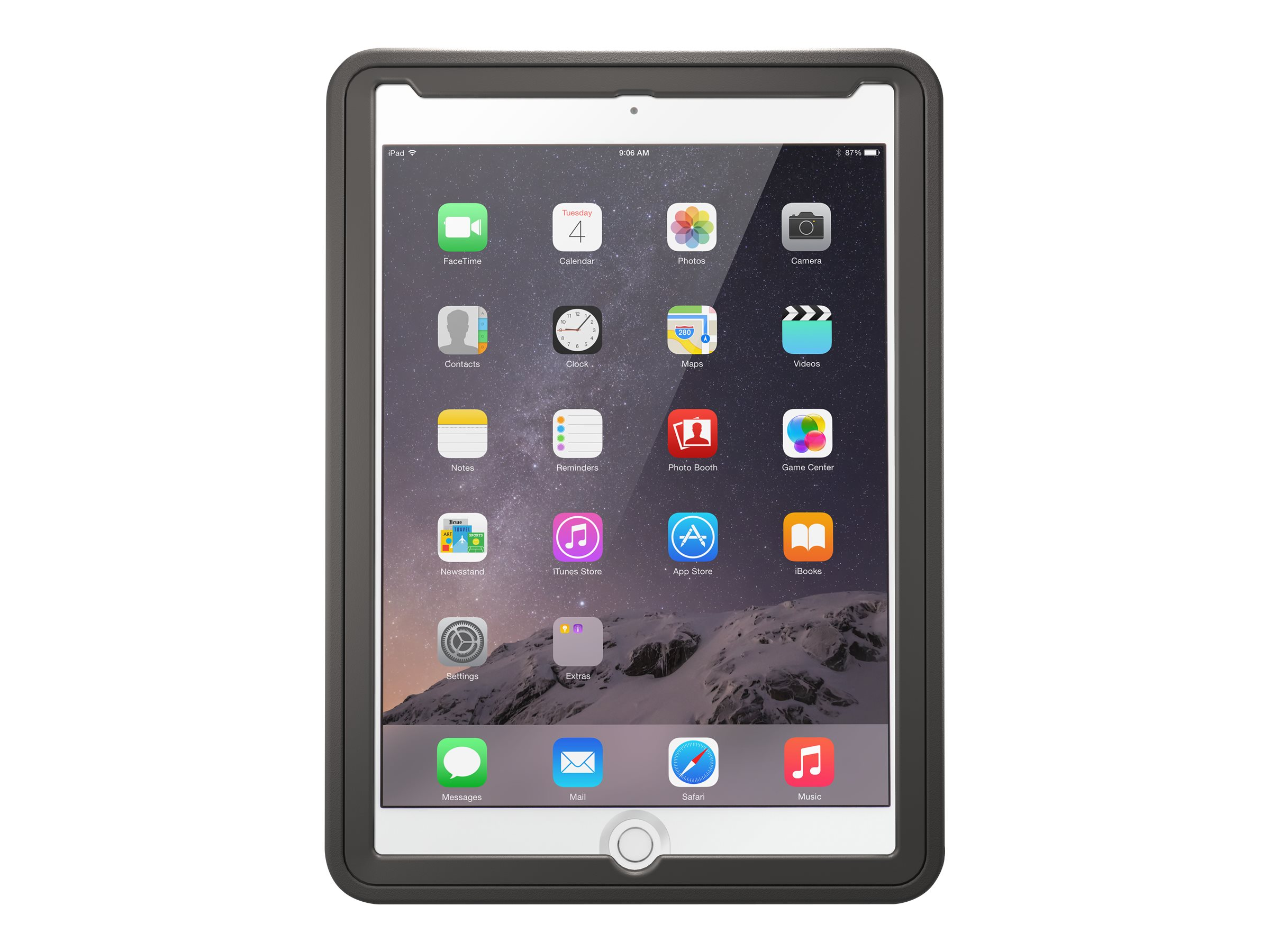 OtterBox Unlimited Education Bulk for iPad Air 2, Slate Gray, 77-51666, 22806048, Carrying Cases - Tablets & eReaders