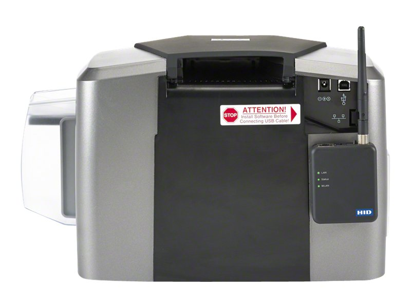 Fargo Electronics DTC1250e Card Printer-Encoder, 050000
