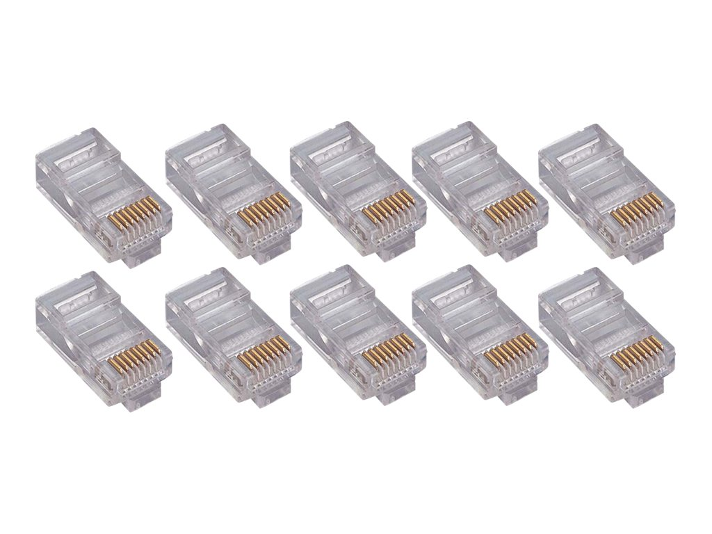 4Xem CAT6 Connector, 100-Pack, 4X100PKC6