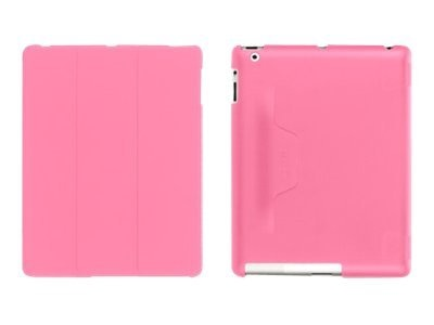 Griffin IntelliCase for iPad 3, Pink, GB03817, 13773969, Protective & Dust Covers