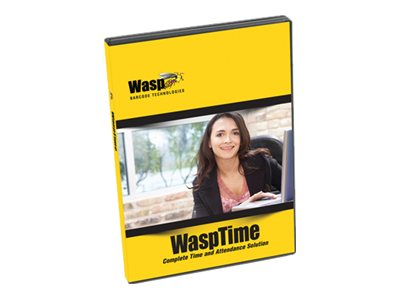 Wasp WaspTime Software, Additional License for 50 Users, 633808550066, 5507812, Software - Human Resources Management