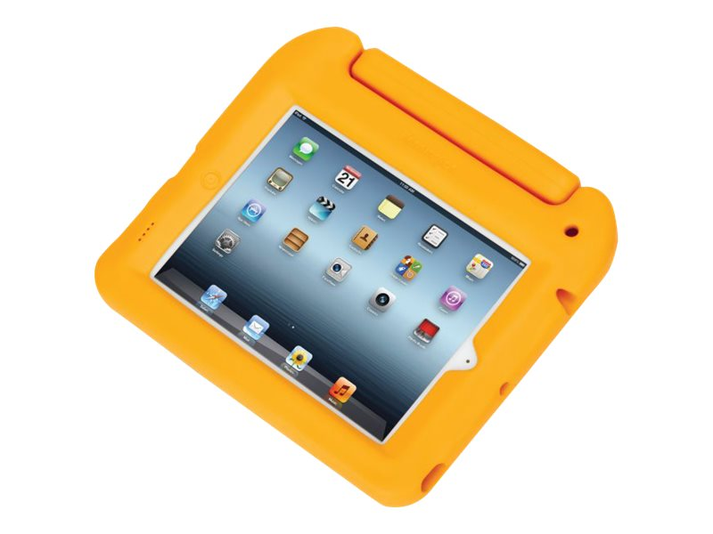 Kensington Safegrip Security Case without Lock for iPad, Yellow, K67796AM, 15511823, Carrying Cases - Tablets & eReaders