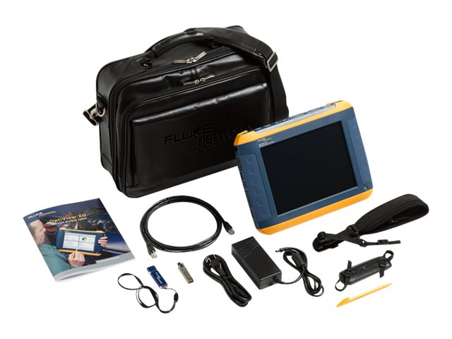 Fluke Network Analysis Tablet, 1-Year Gold Support, OPVXG/GLD, 12935508, Network Test Equipment