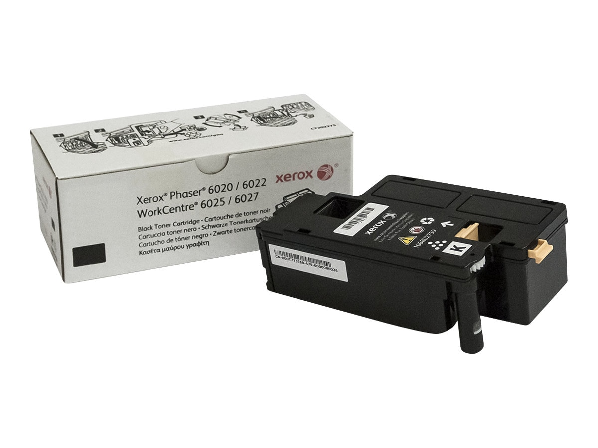 Xerox Black Toner Cartridge for Phaser 6022 & WorkCentre 6027, 106R02759, 18441912, Toner and Imaging Components