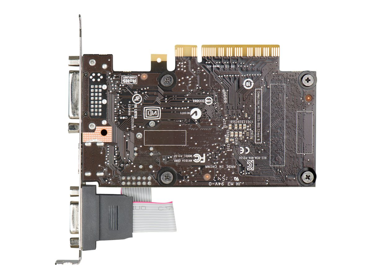 eVGA GeForce GT 710 PCIe Graphics Card, 1GB DDR3, 01G-P3-2710-KR
