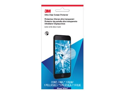 3M Ultra Clear Screen Protector for Apple iPhone 6 6S