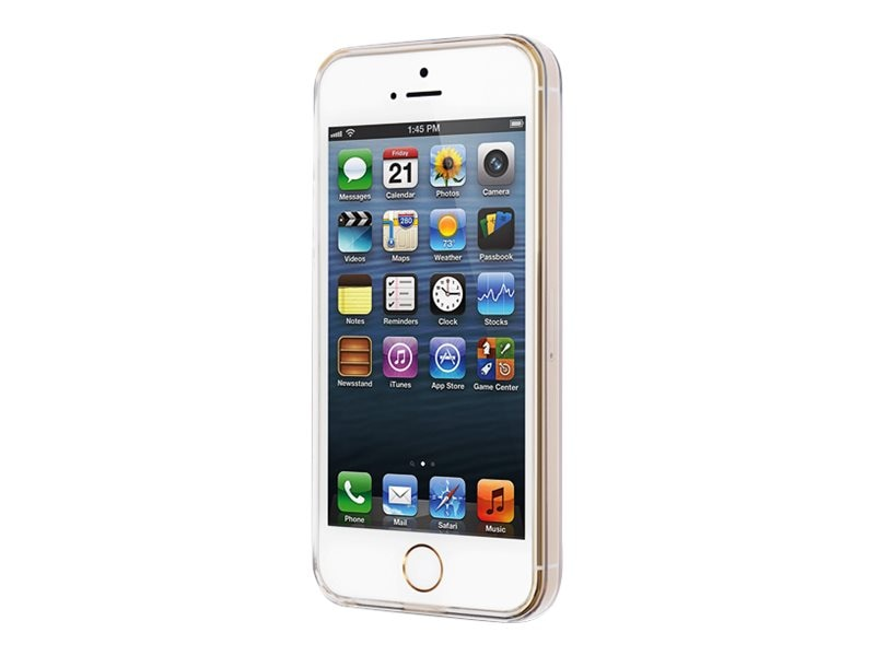 V7 Slim Case for iPhone5 5s, Clear, PD20C-5S-14N, 17247931, Carrying Cases - Phones/PDAs