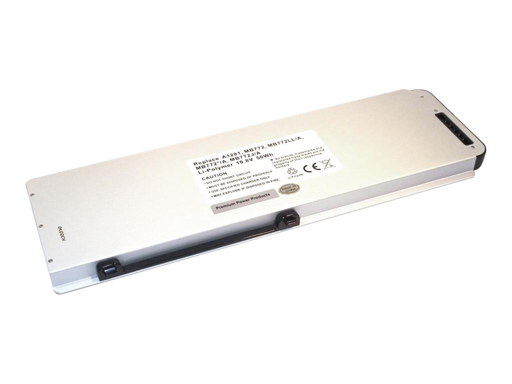 Ereplacements Laptop battery for Apple Macbook 15 Unibody. Replaces 661-4833, A1281, 661-4833-ER, 12451651, Batteries - Notebook