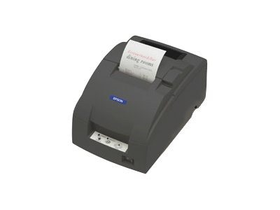 Epson TM-U220D-872 Ethernet Receipt Printer w  Tear Bar, Edge & Power Supply