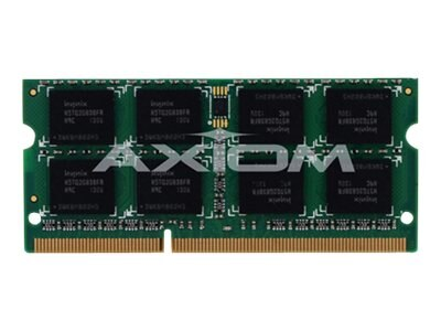 Axiom 4GB PC3-10600 DDR3 SDRAM SODIMM for Select Inspiron, Latitude, Precision, Studio, Vostro Models, A2885458-AX