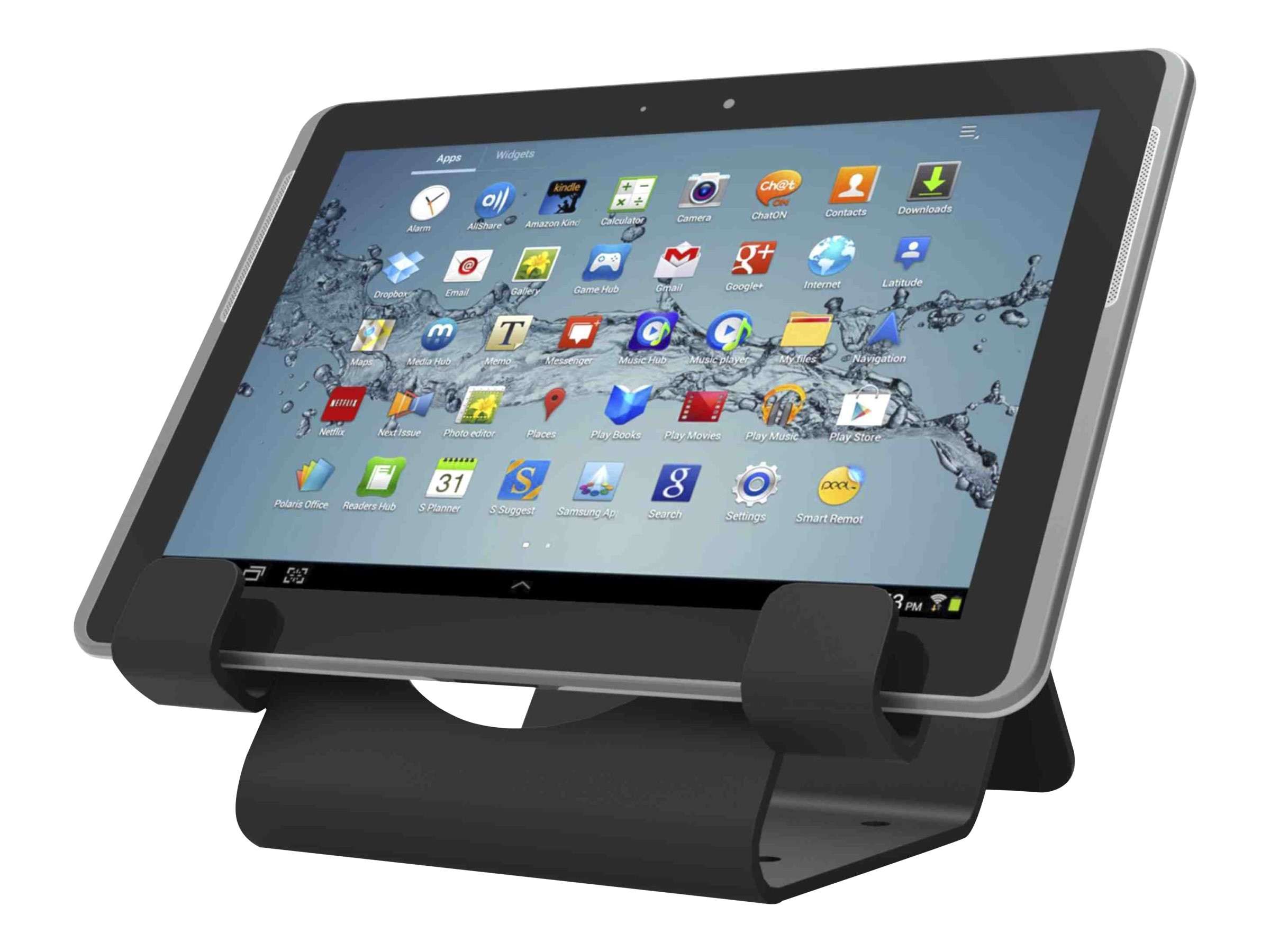 Compulocks Universal iPad and Tablet Security Holder, Black, CL12UTHBB