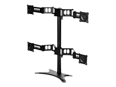 DoubleSight Quad Monitor Flex Stand